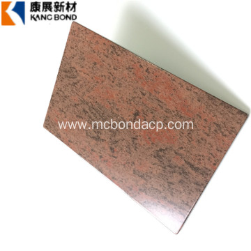 Granite Exterior Wall ACP Aluminum Trailer Side Panel