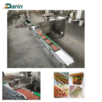Automatic meat bar entry  extrusion machine