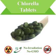 Non-Irradiation & Non-GMO Chlorella Tablets