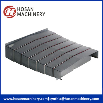 Telescopic Armoured Accordion Bellows Covers for CNC Machine