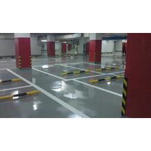 Garage solvent-free anti-corrosion self-flowing flat paint