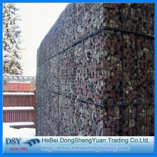 Square Hole Galvanized Welded Gabion