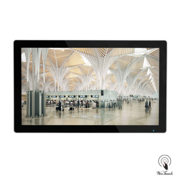 32 Inches Digital Advertising Displays For Air Port