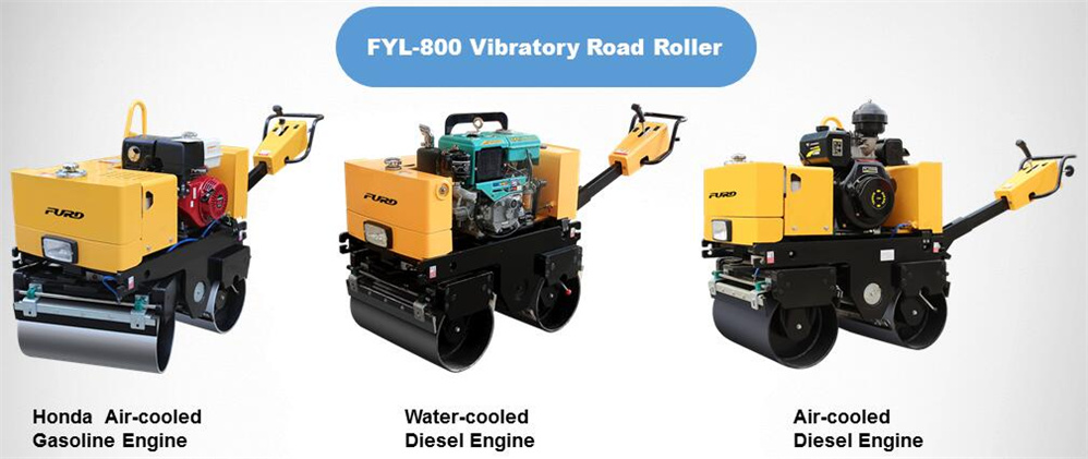 Mini Manual Asphalt Roller