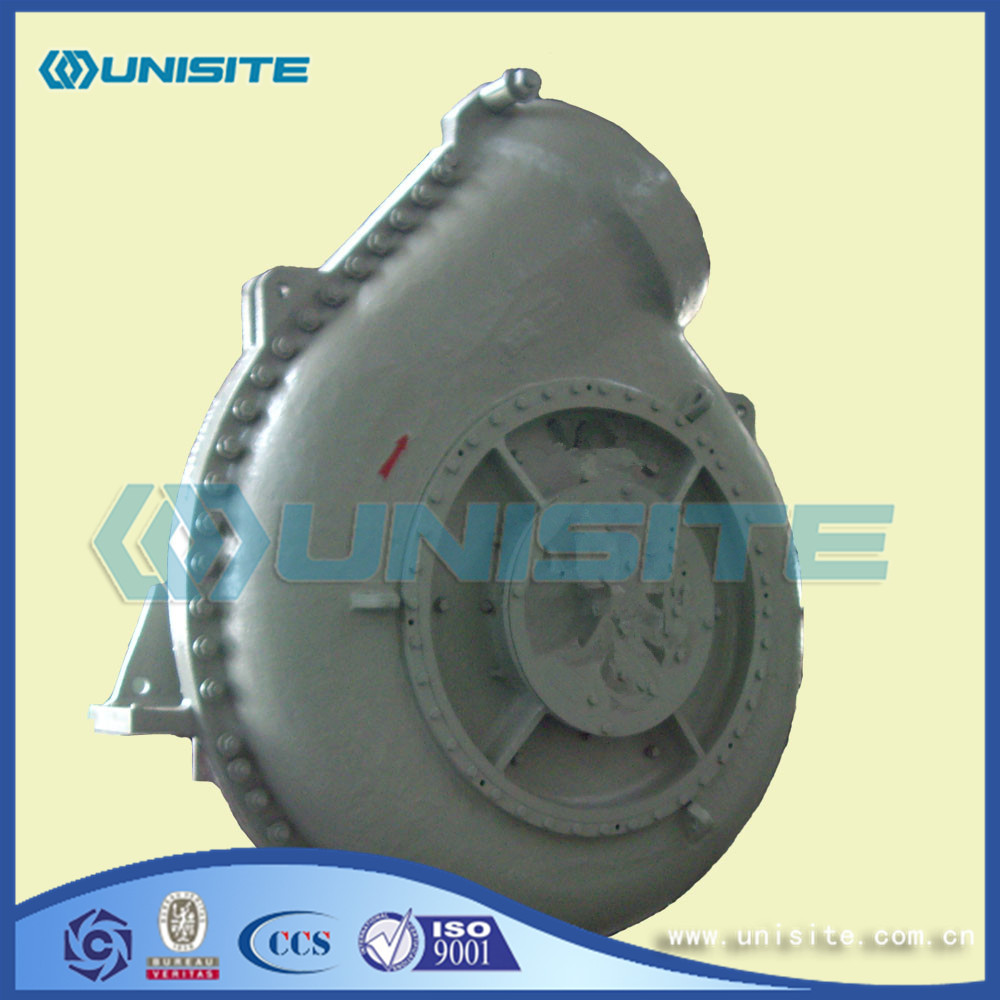 Suction Dredge Steel Pump Design for sale