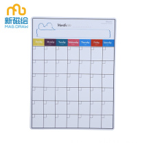Fridge Magnetic Dry Wipe Weekly Planner