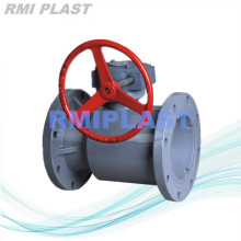 CPVC Flanged Ball Valve ANSI CL150