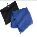 sport microfibre towel printed with bag