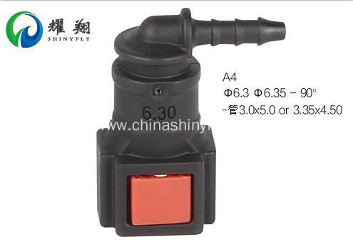 Urea Line Quick Connector Of 6.3 To Hose ID 3mm