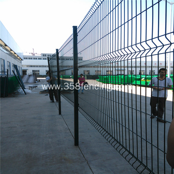 PVC Coated V Pressed Welded Mesh Fence