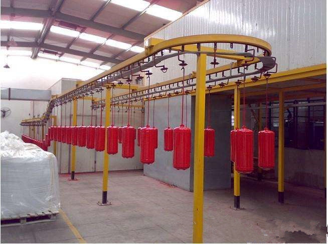 metal coating spray equipment