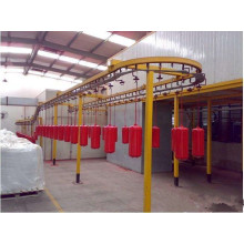 metal coating spray line
