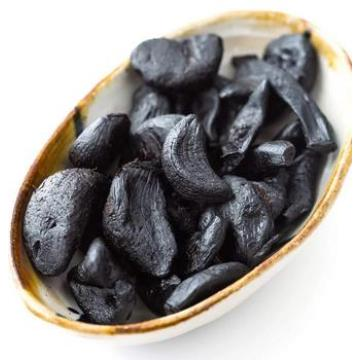 peeled black garlic fermented for 90 days