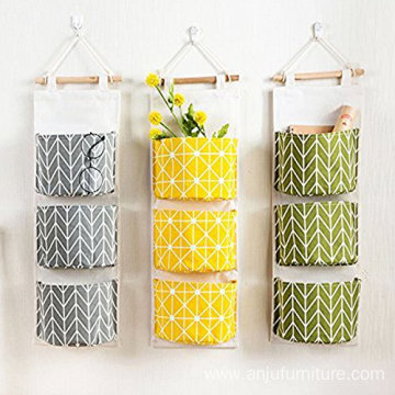 Hanging wall pocket storage organizer wall organizer pocket
