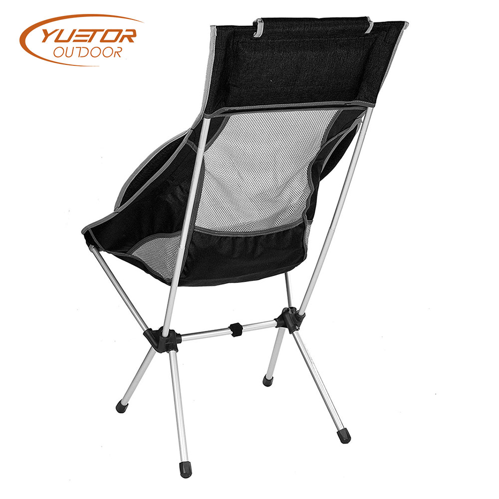 Heavy Duty High Back Camping Festival Chair Back