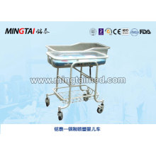 Steel spray stroller for hospital
