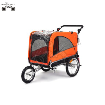 16' wheels-quick release large bike pet trailer cargo