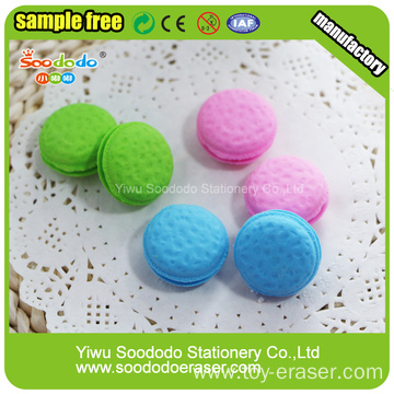 Macaron And French Design Eraser For Promotion