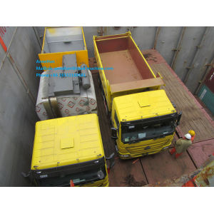 Yellow color30-40T dump truck of Sinotruk