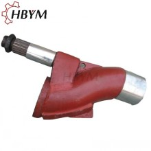 Cheapest Price for Mixer Shaft Putzmeister Concrete Pump Spare Parts S Valve supply to Trinidad and Tobago Manufacturer