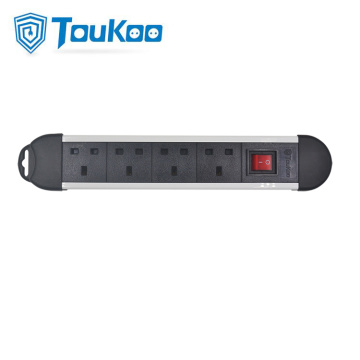 British Fused Power Module 4 Way Power Strip