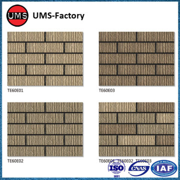 Small clinker porcelain wall brick