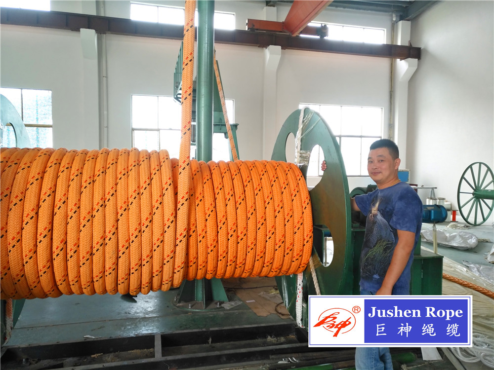 12 Strand Braided Uhmwpe Core Polyester Cover