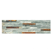 Cheap for Faux Stone Panels Colorful Water Flow Slate Stacked Stone Cladding export to United States Manufacturers