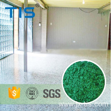 UV stabilized acrylic Polymer Flakes