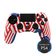 USA flag Designer Silicone Skin for PS4