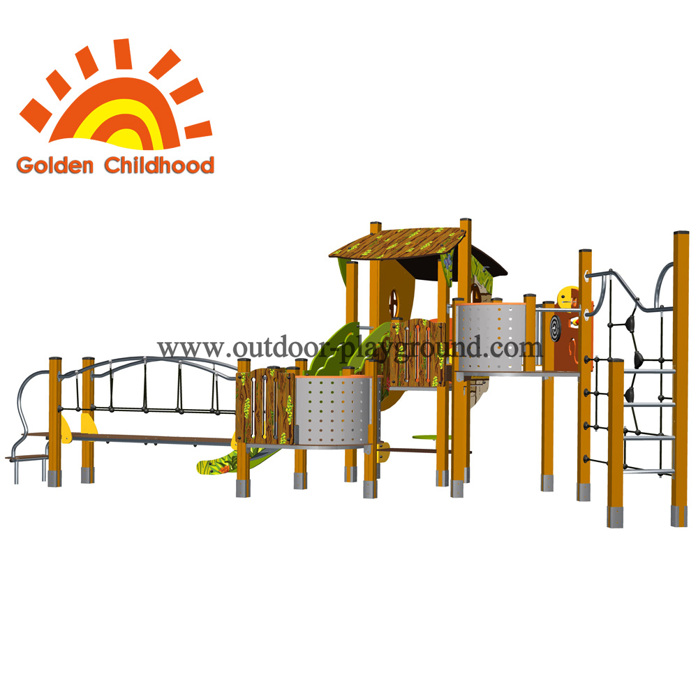 Climber Playhouse Backyard Outdoor Playground Equipment For Children