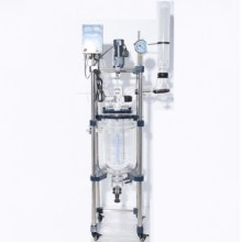 Lab common device chemcial reaction glass reactor 20l