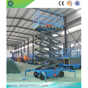 Massive Selection for for Mobile Scissor Lift 0.5t 8m Height Scissor Lift Aerial Work Platform supply to Barbados Importers