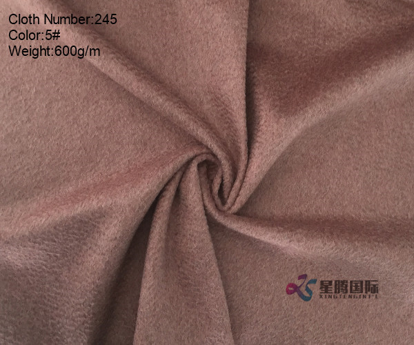 Single Face Water-wave 95% Wool And 5% Nylon Fabric