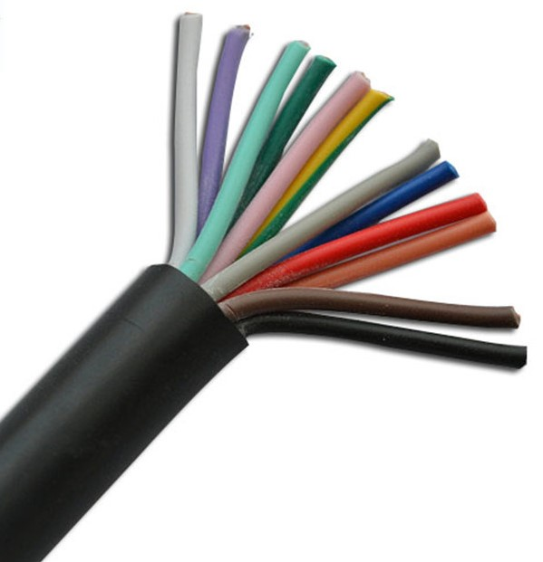 Copper core PVC insulated sheathed soft wire