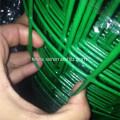 Dark Green PVC Coated Security Euro Fence