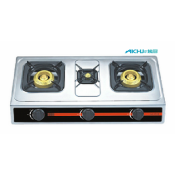 3 Burners Stainless Gas Stove