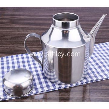 304High  Quality Stainless Steel Lidded Spice Jars