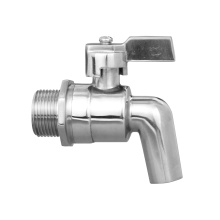 ball valve stainless steel ball drain tap surface polish