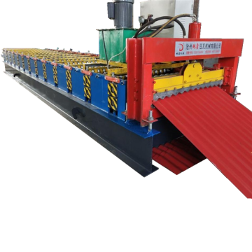Corrugated Galvanized Steel Sheet Roll Forming Machine