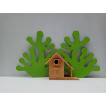Solid Wood  Bird House
