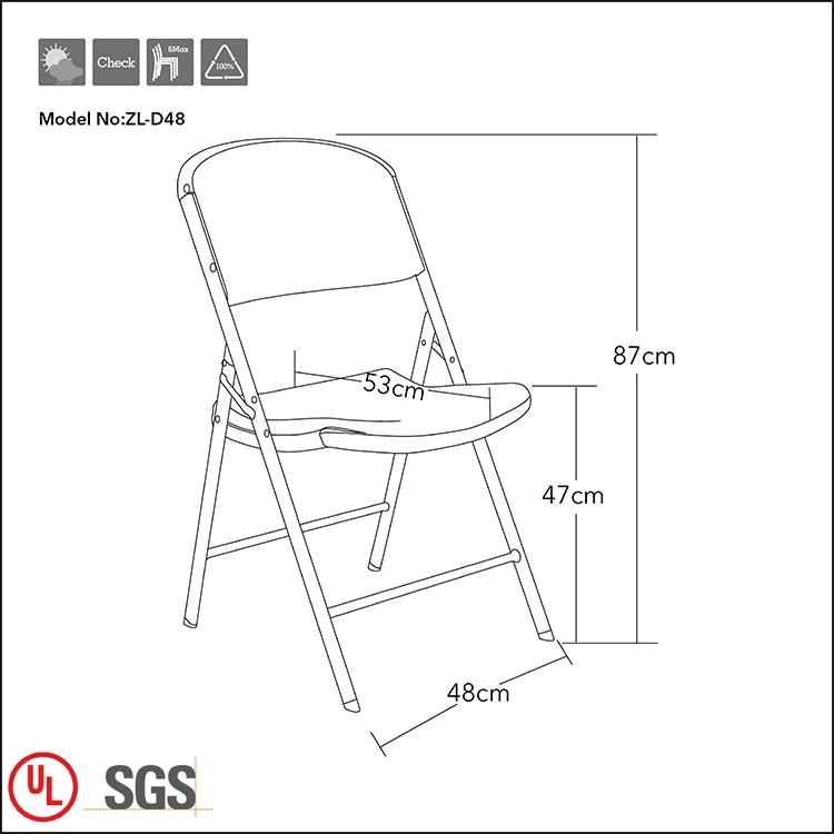 Plastic Outdoor Chair for Wedding