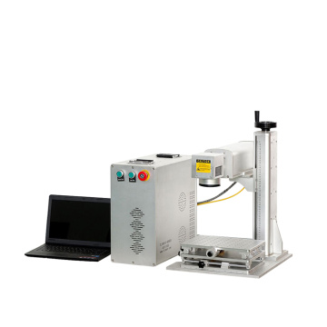 50W portable Metal Coffee Table fiber Laser Marking Machine