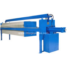 Automatic Plate Frame Food Beverage Filter Press