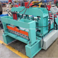 Steel Roofing Glazed Tile Roll Making Machine