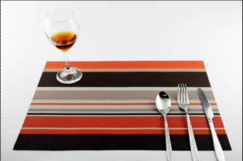 Stripe series of household business dining mat decoration8
