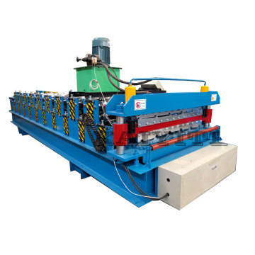 double decker roof sheet forming machine