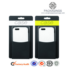 Paper board pvc window phone case packaging