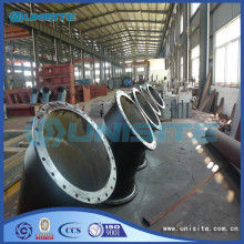 Bottom price for Welded Bend With Flanges Hot equal welded steel bends export to Zambia Factory