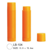 China Gold Supplier for for Lip Balm Container Plastic Round Lip Balm Tube supply to Burundi Manufacturer